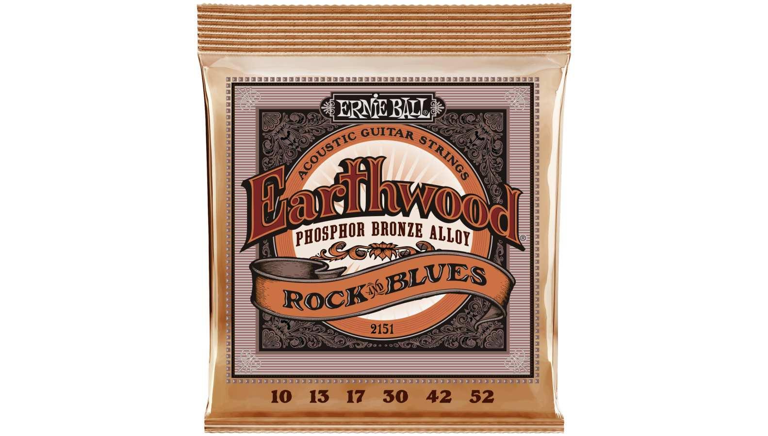 Ernie Ball EB-2151 Westerngitarre Saiten 010-052