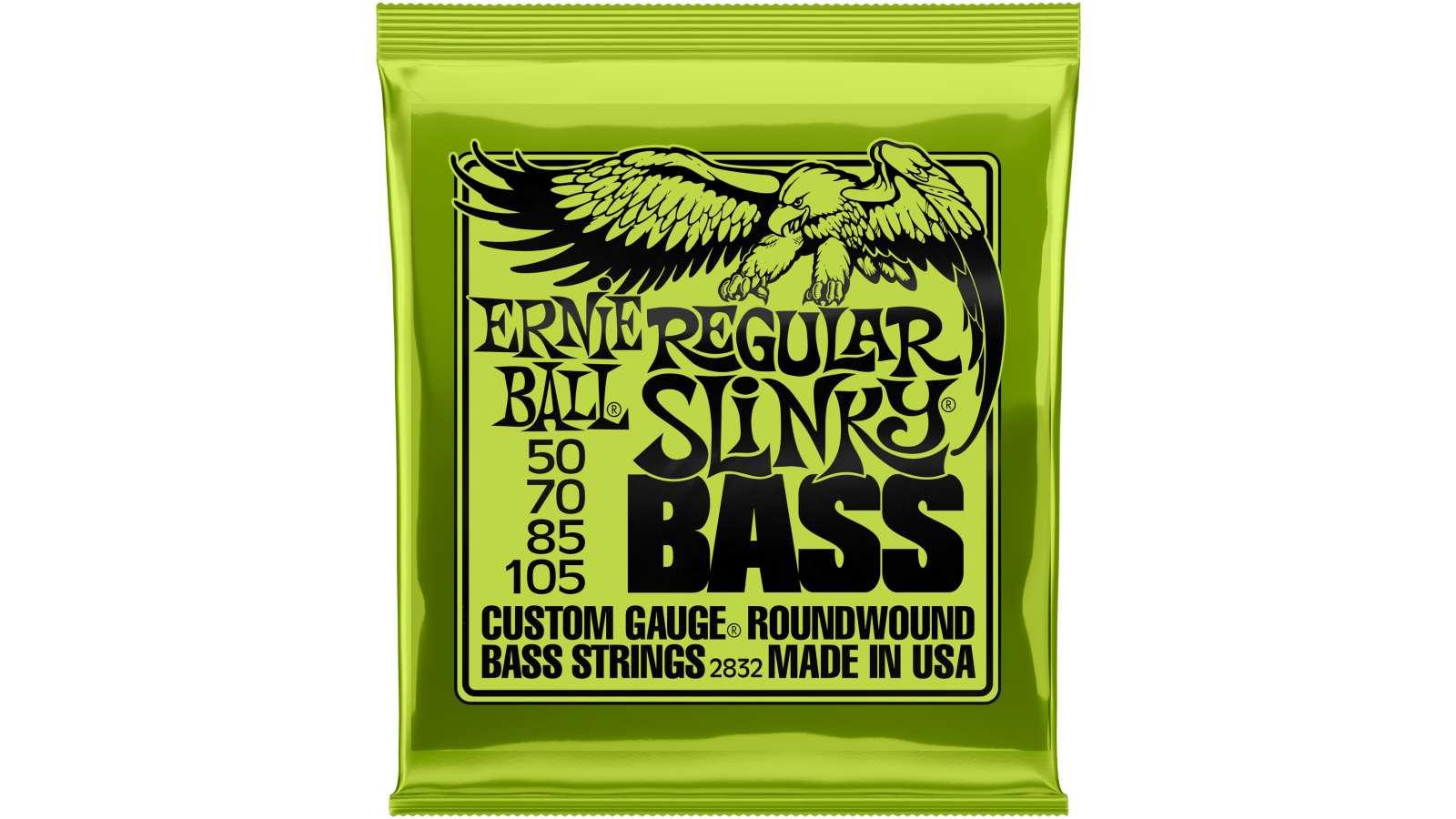 Ernie Ball EB-2832 Regular Slinky Bass Saiten 050-105