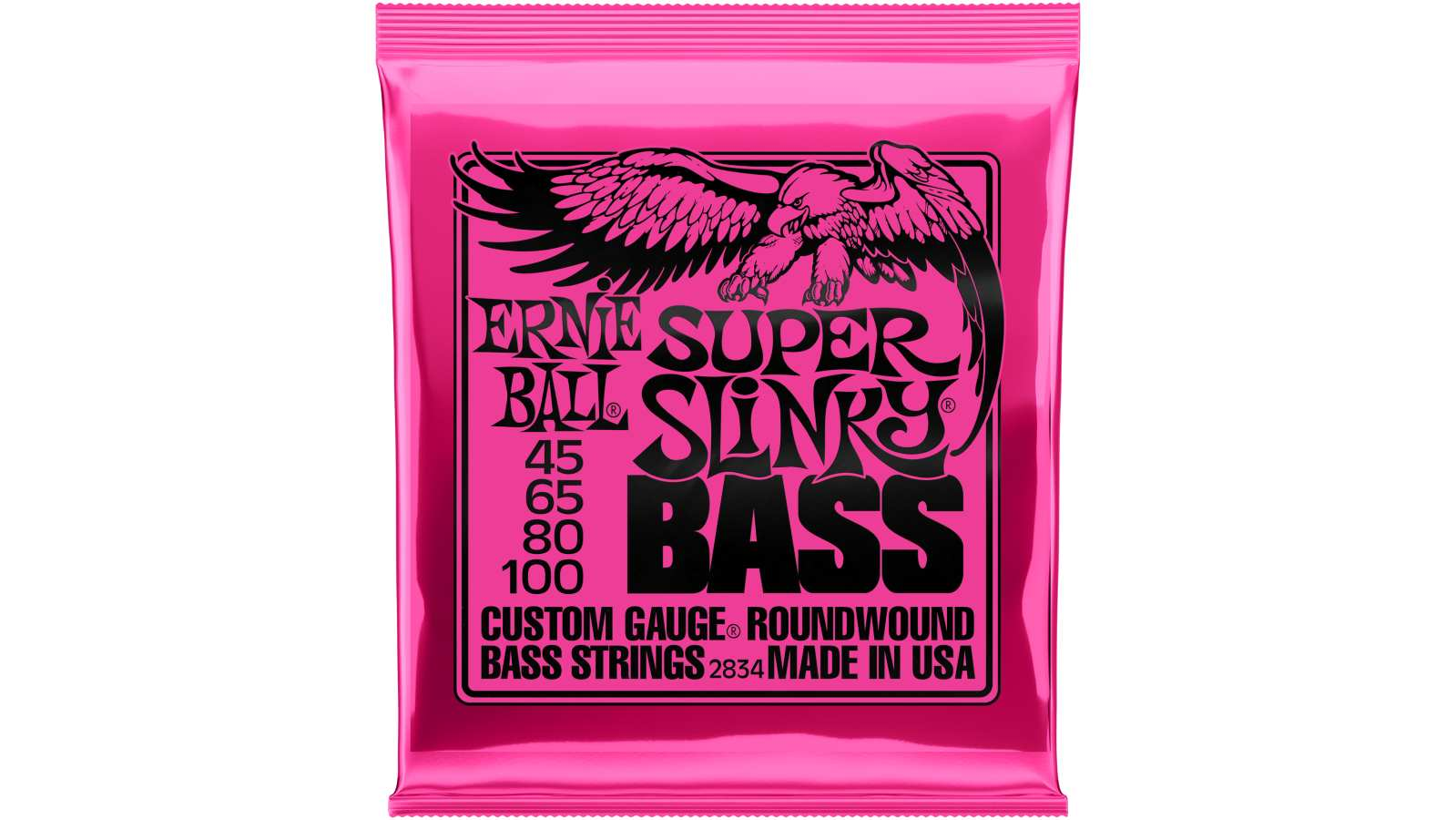 Ernie Ball EB-2834 Super Slinky Bass Saiten 045-100