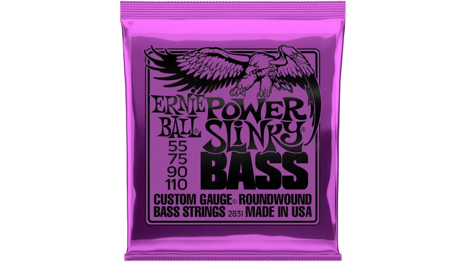 Ernie Ball EB-2831 Power Slinky Bass Saiten 55-110