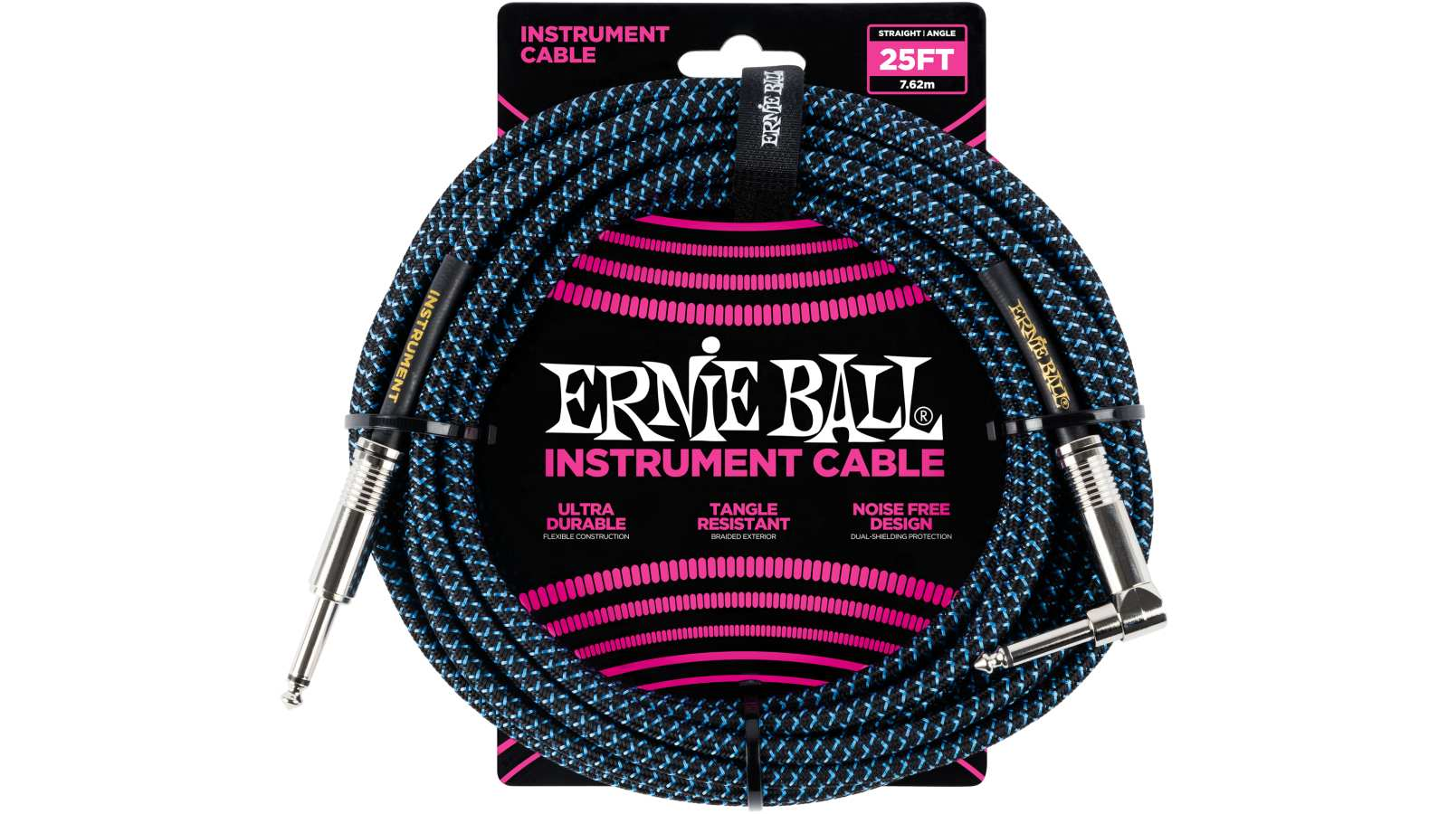 Ernie Ball EB6060 Gitarren Kabel 7,62m