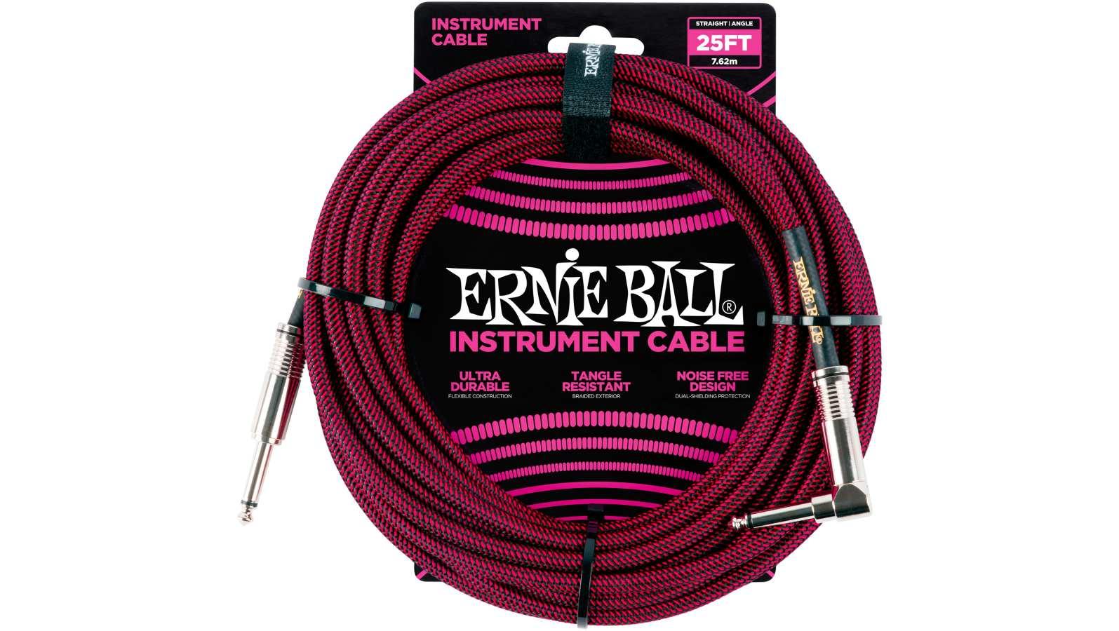 Ernie Ball EB6062 Gitarren Kabel 7,62m