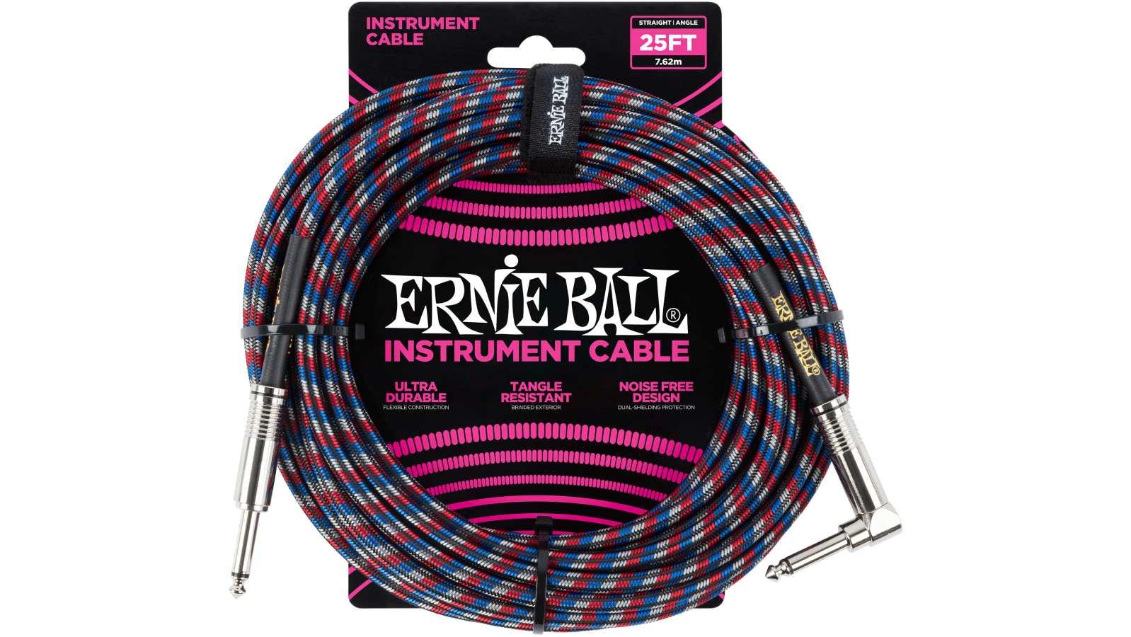 Ernie Ball EB6063 Gitarren Kabel 7,62m