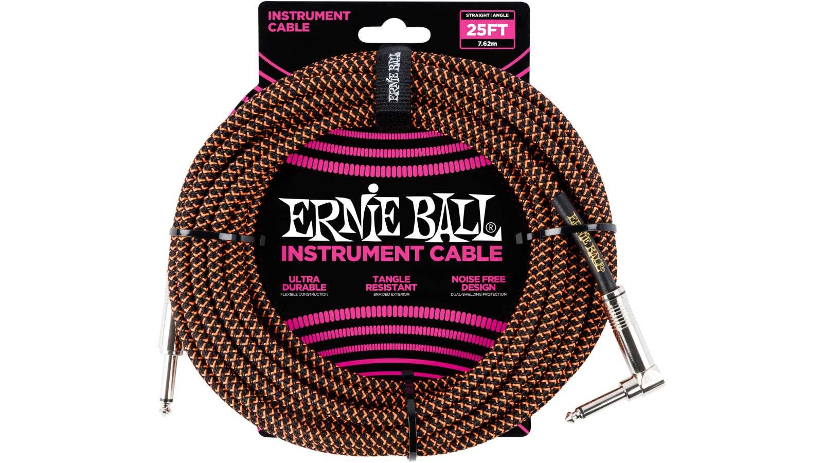 Ernie Ball EB6064 Gitarren Kabel 7,62m