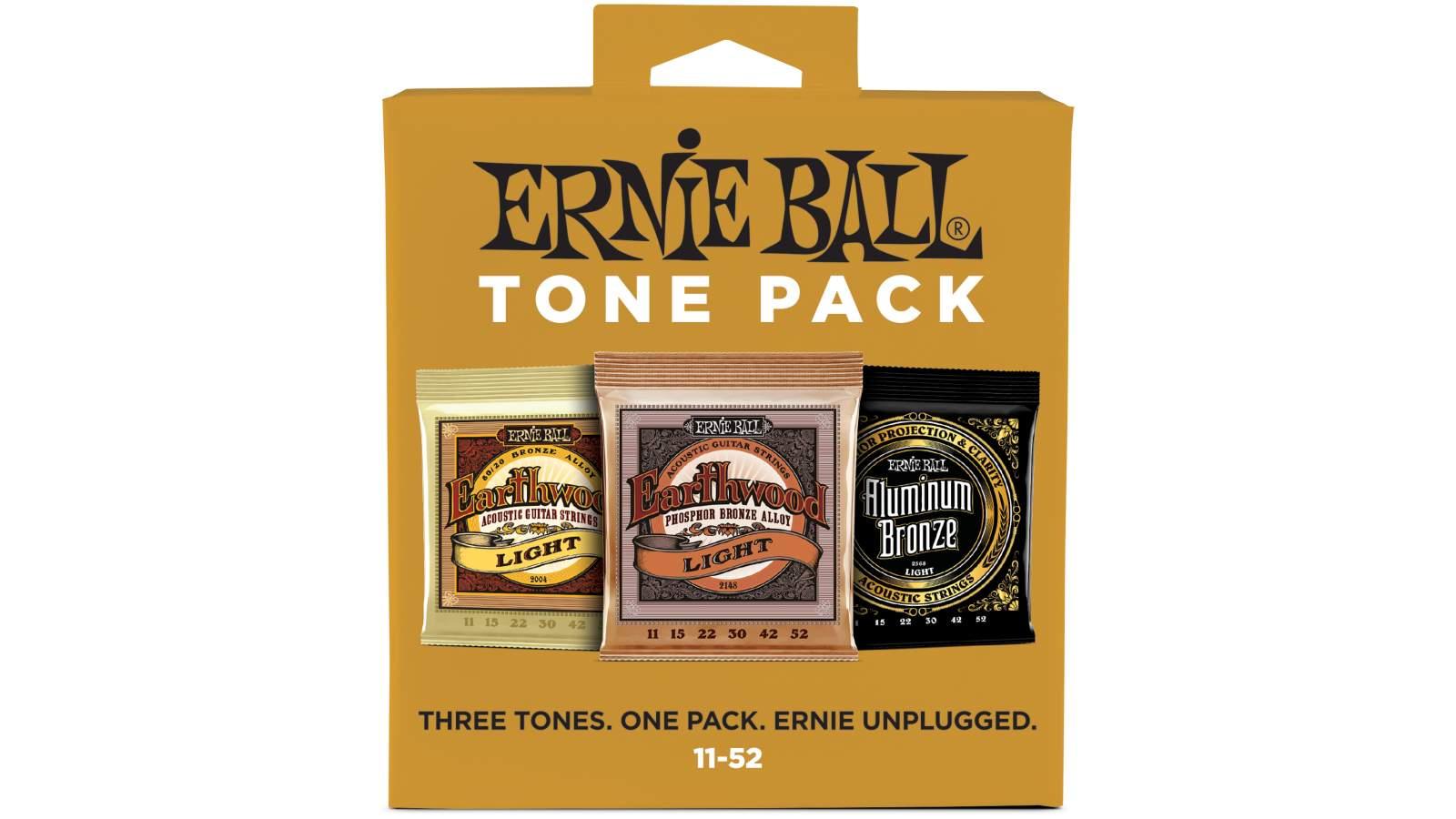 Ernie Ball EB3314 Acoustic Tone Pack Light 011-052 Saiten 3-Pack
