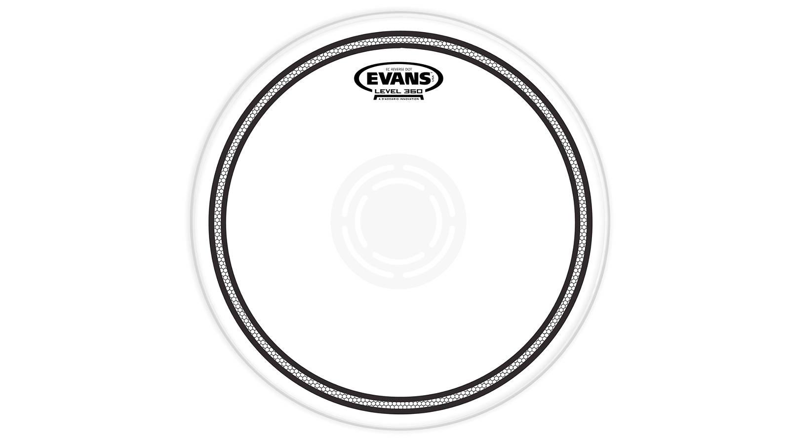 "Evans B13EC1RD EC1 Reverse Dot Coated Snare 13"""