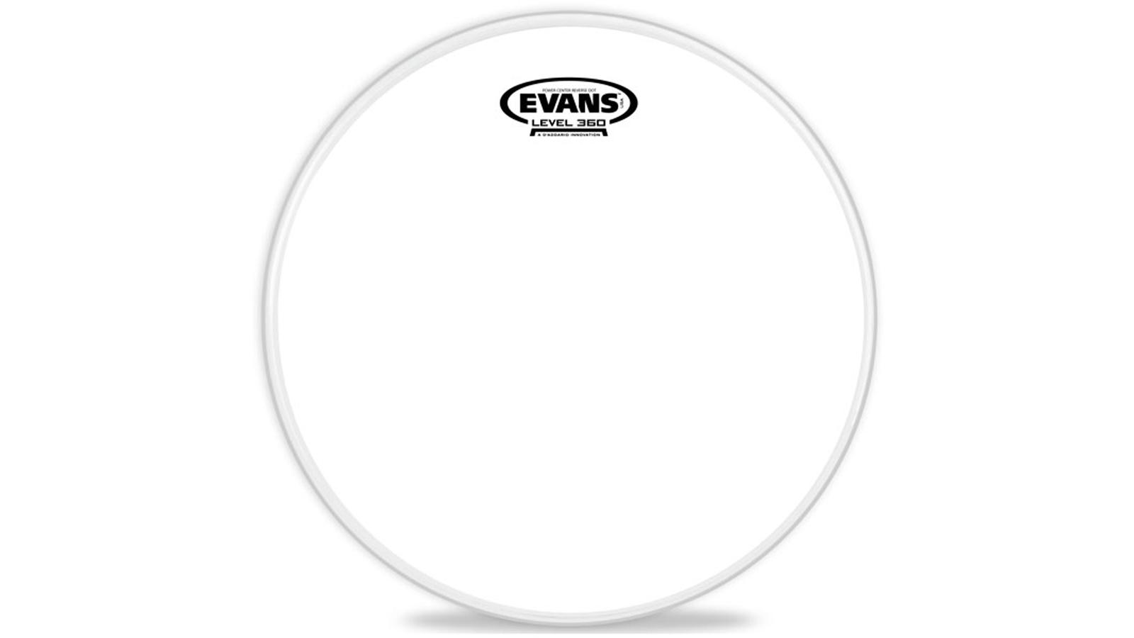 """Evans B12G1RD Snare Power Center Reverse Dot 12"""""""