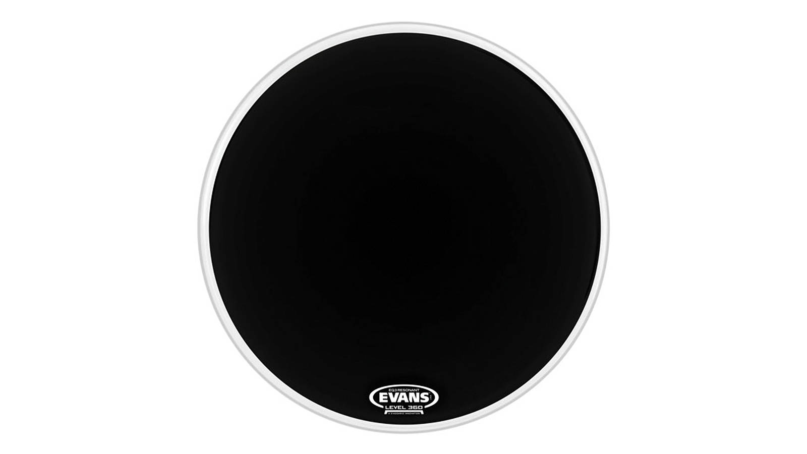 Evans EQ3-NP Black Reso 22""
