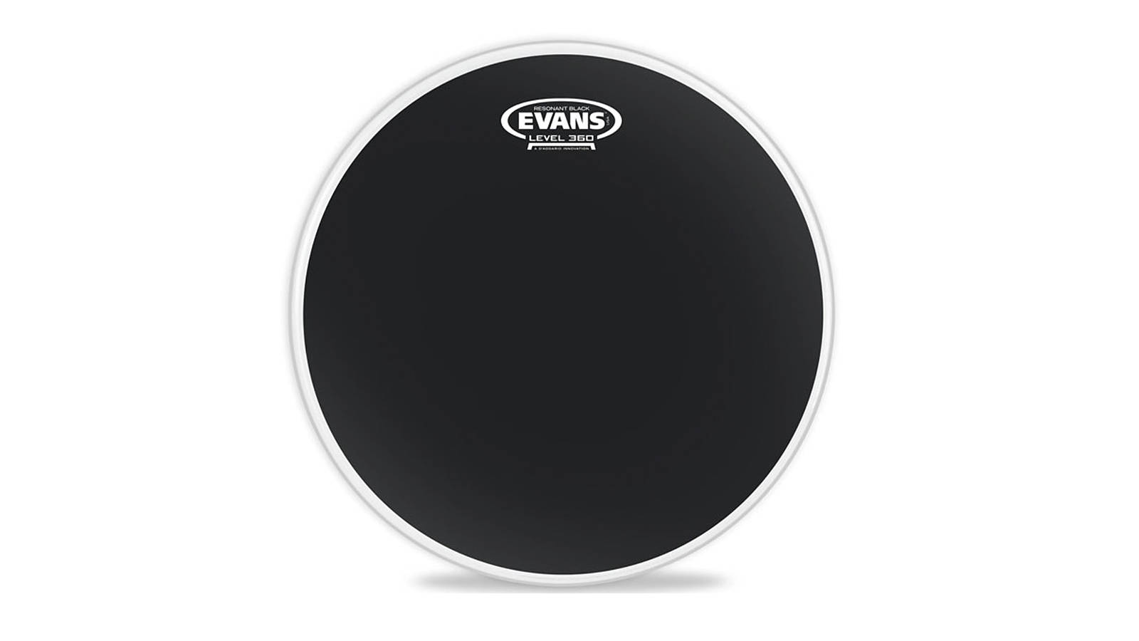 Evans TT16RBG Resonant Black Tom 16""