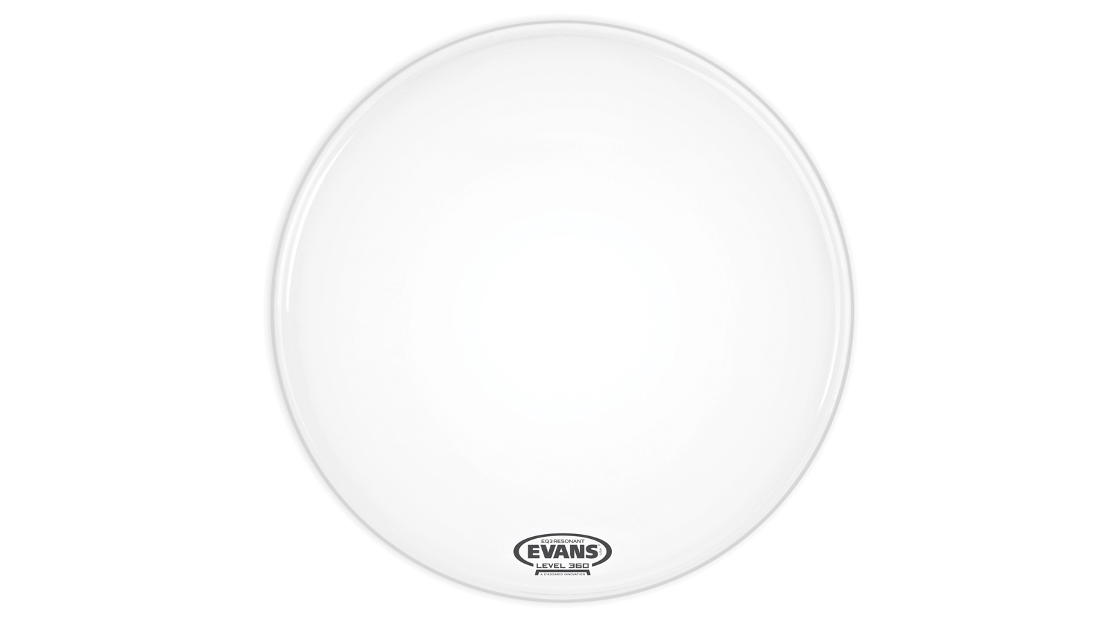 Evans BD20RSW-NP Bass Drum Resonanzfell weiss 20""