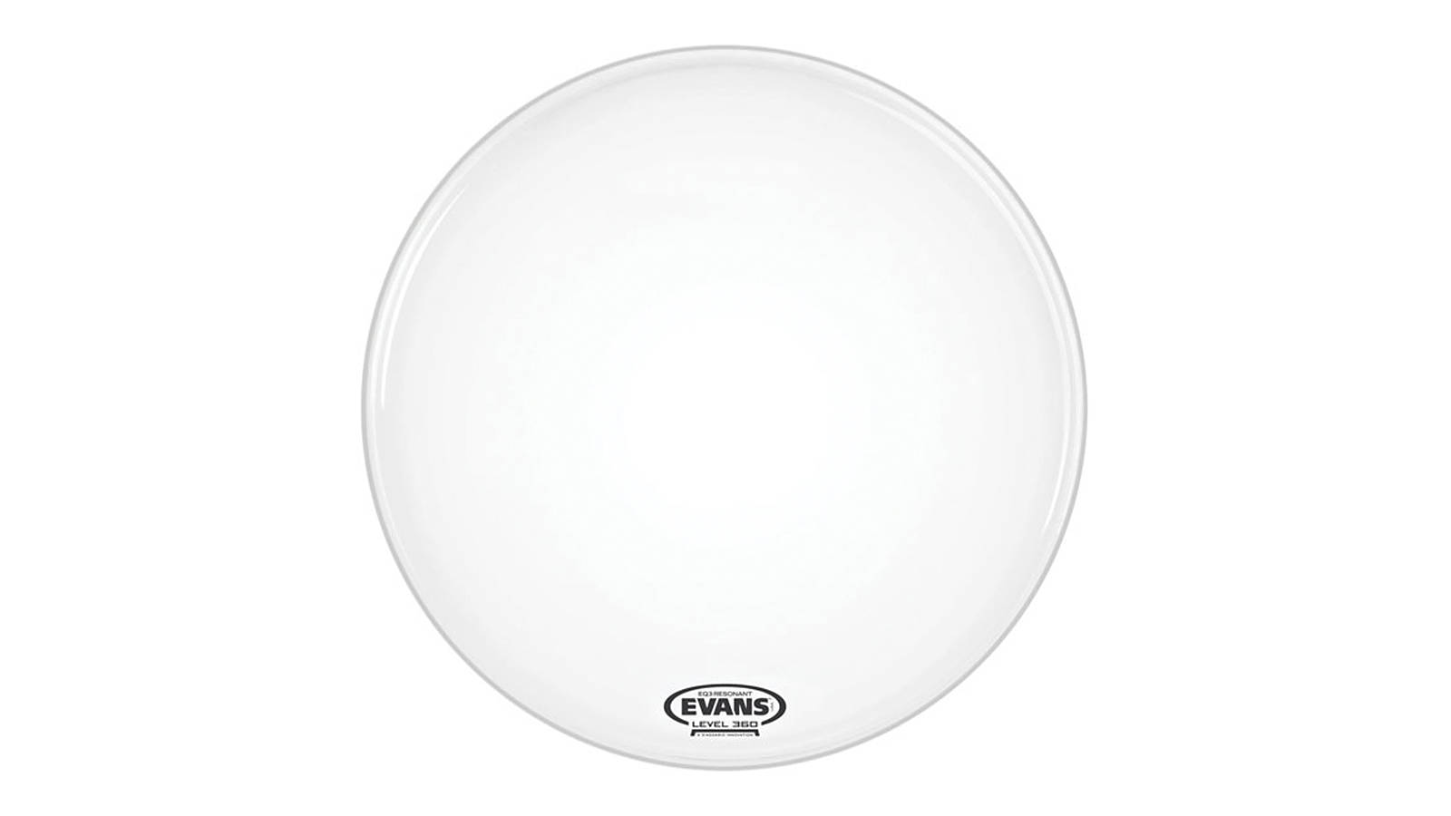 Evans BD22RSW-NP EQ3-NP Smooth White 22""