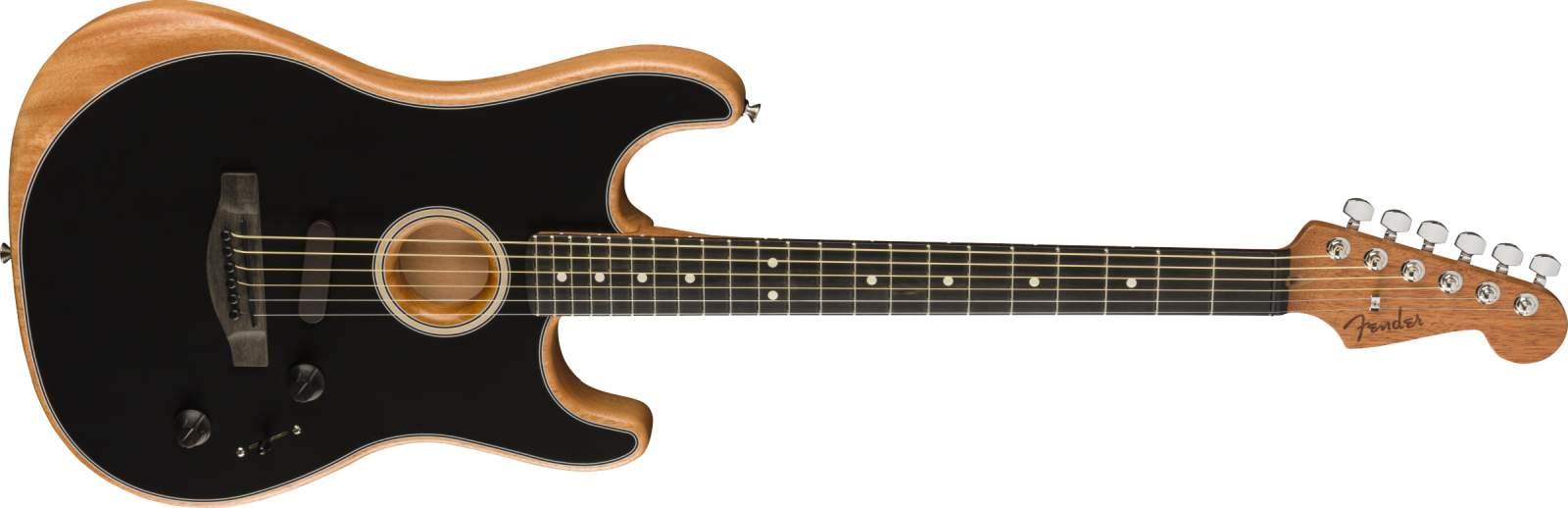 Fender Acoustasonic Stratocaster BK