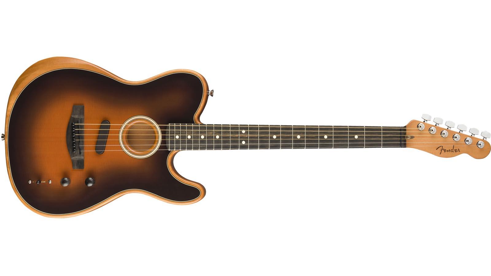 Fender Acoustasonic Telecaster SB Sunburst