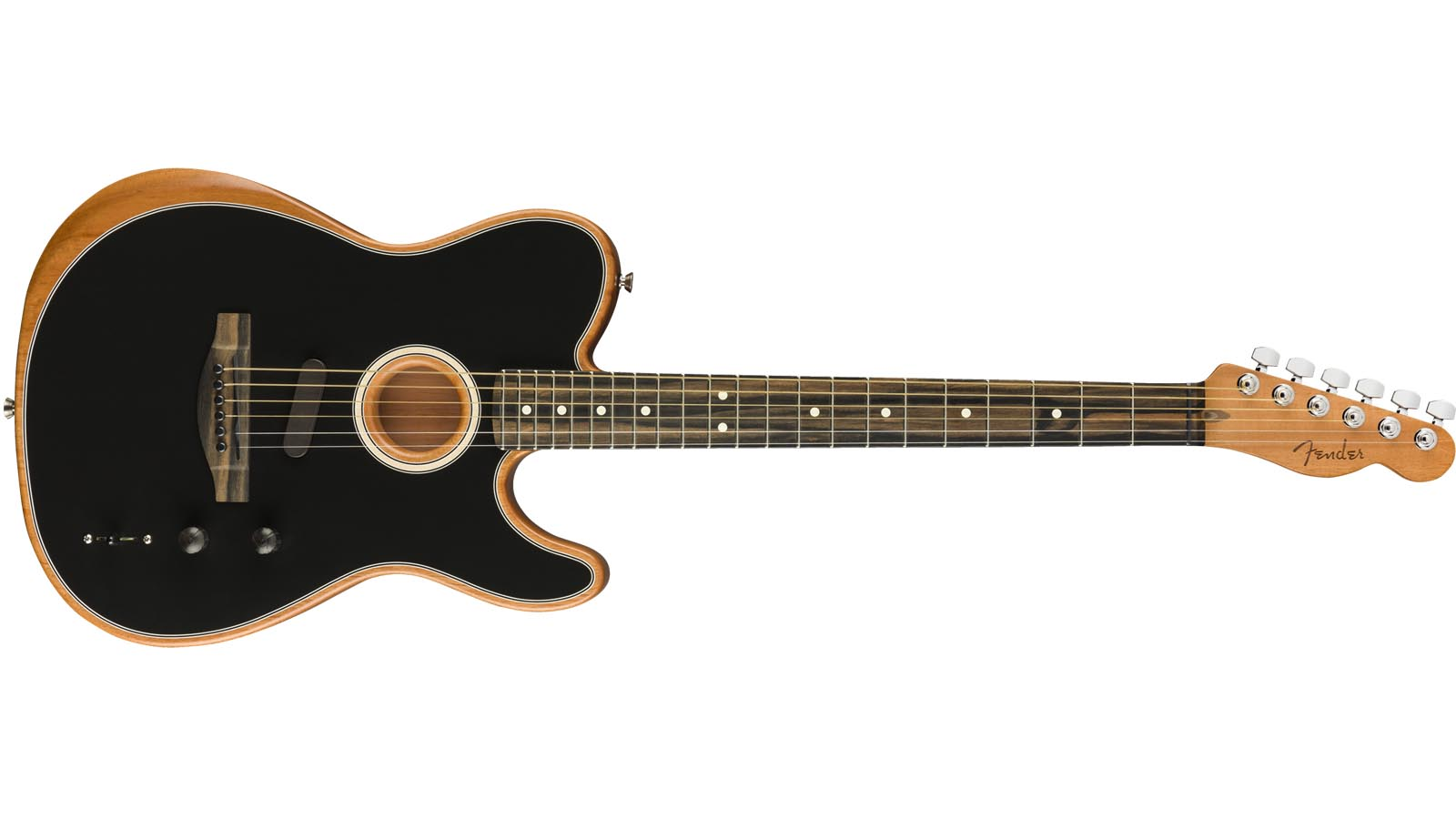 Fender Acoustasonic Telecaster BK Black