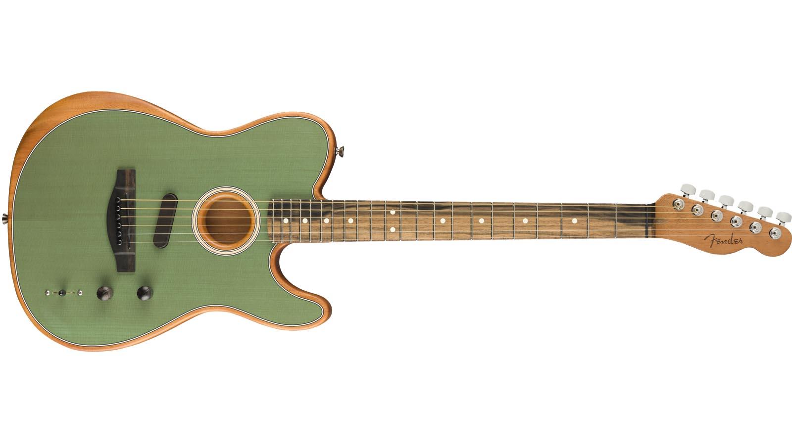 Fender Acoustasonic Telecaster SFG Surf Green