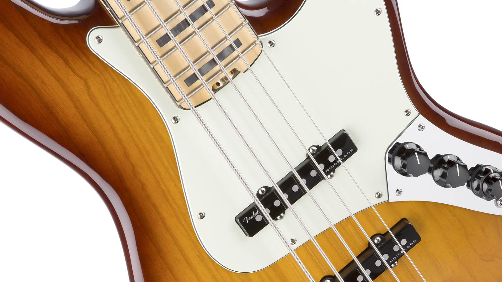 Fender American Elite Jazz Bass V MN TBS