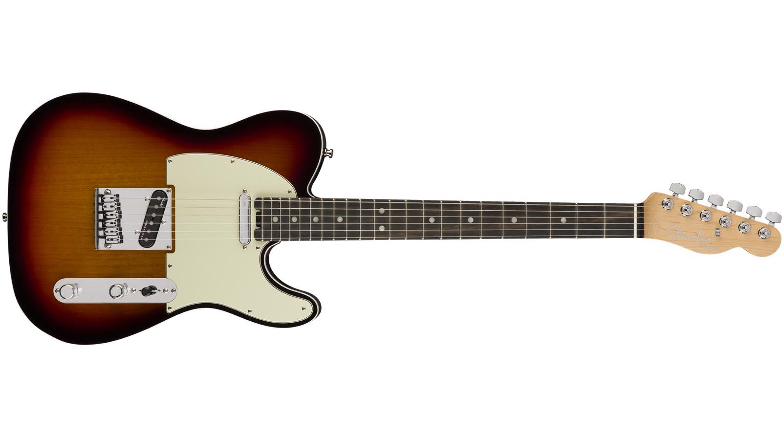Fender American Elite Telecaster EB 3CSB