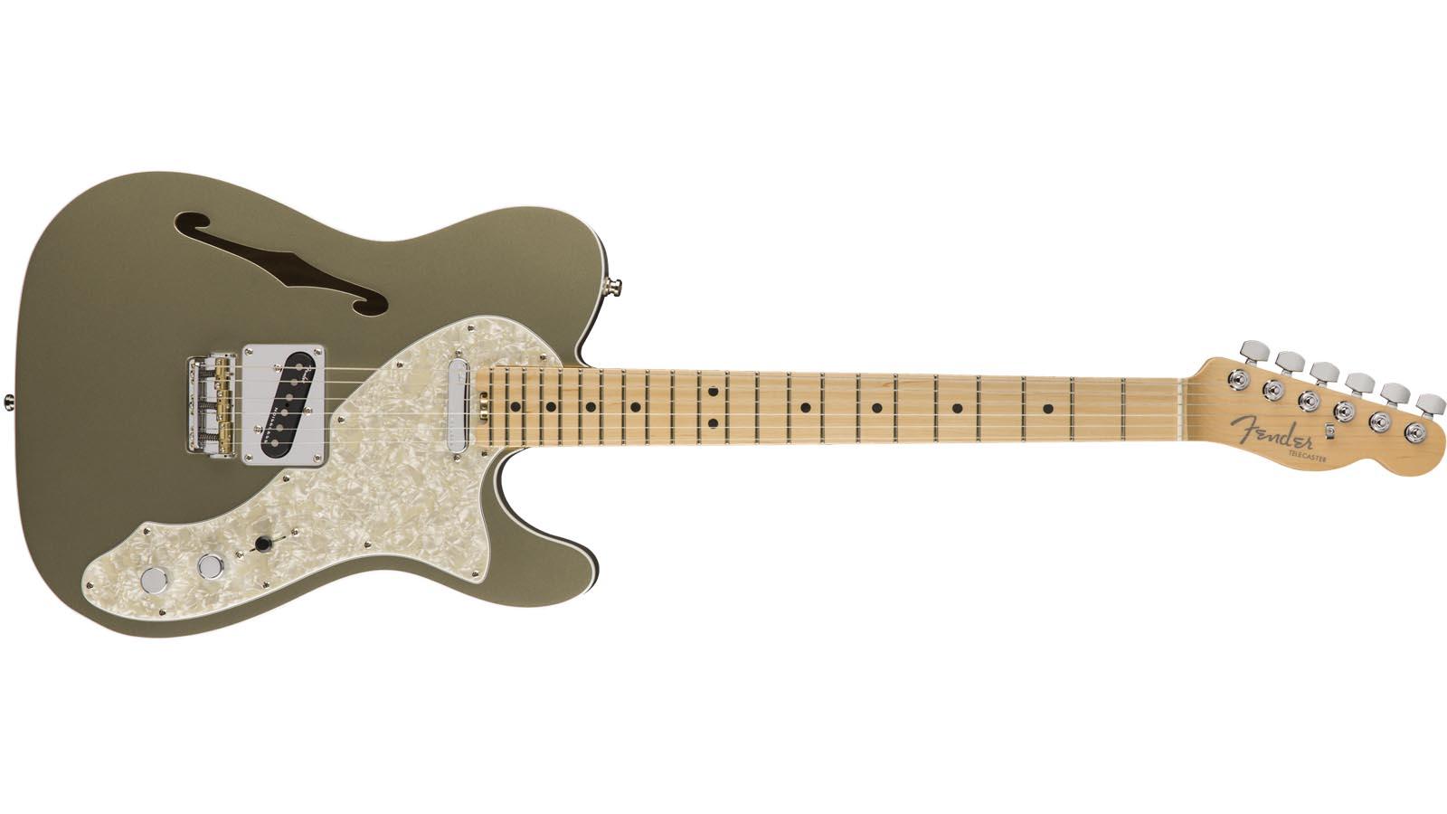 Fender American Elite Telecaster Thinline MN CHP
