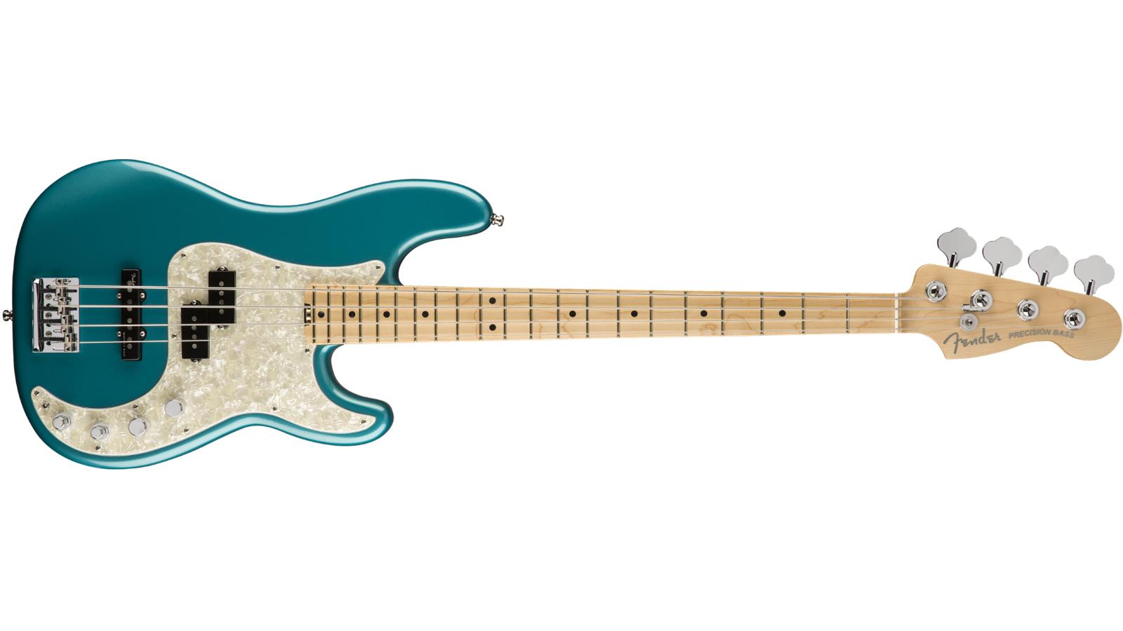 Fender American Elite Precision Bass MN OCT