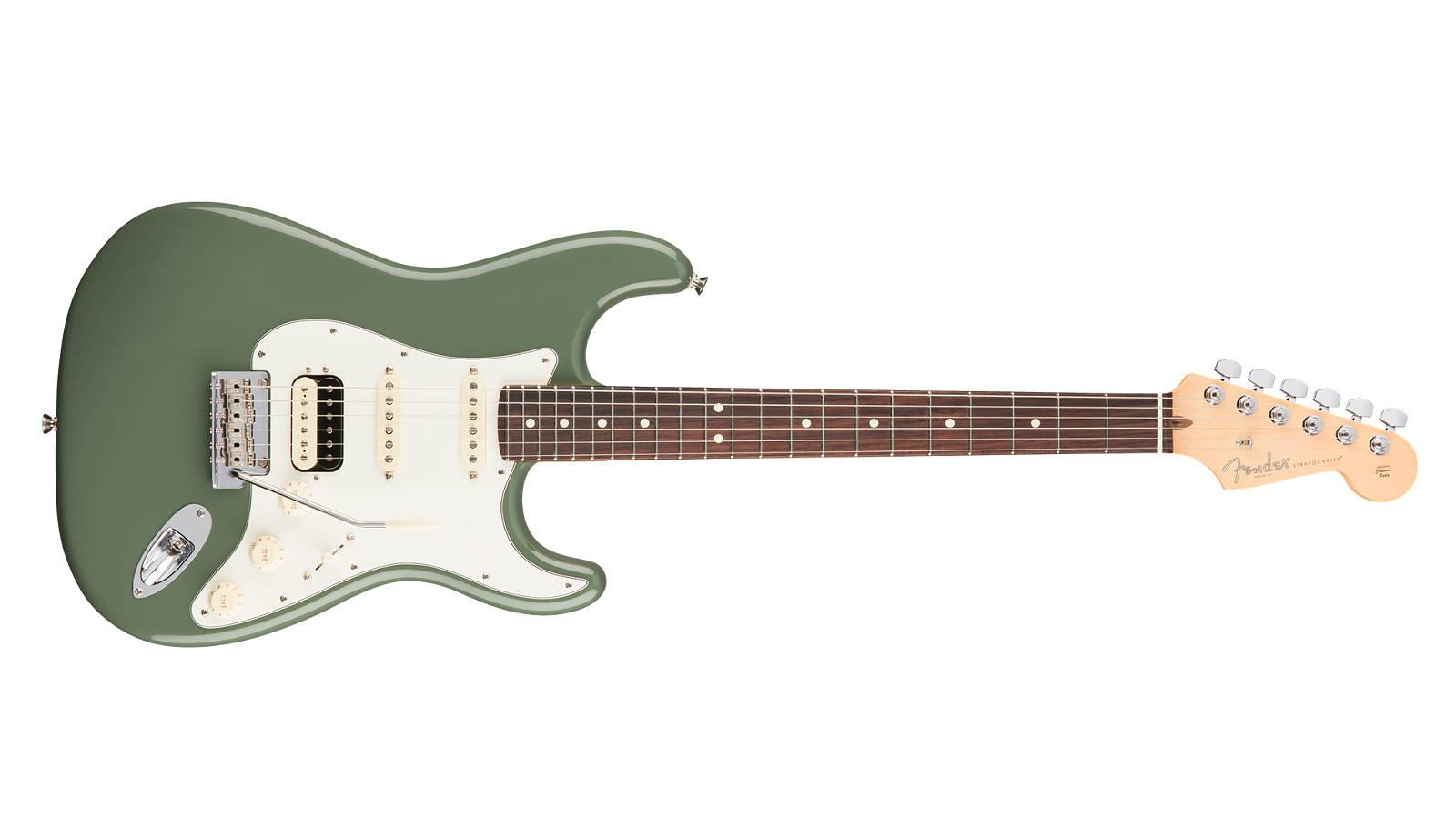 Fender AM Professional Stratocaster HSS Shawbucker RW ATO