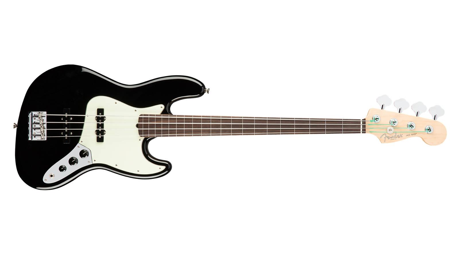 Fender AM Professional Jazz Bass Fretless RW BLK