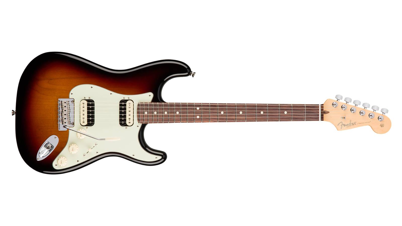 Fender AM Professional Stratocaster HH Shawbucker RW 3TS
