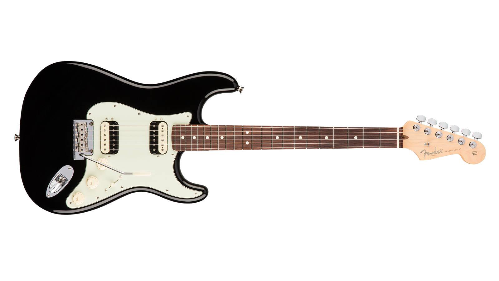 Fender AM Professional Stratocaster HH Shawbucker RW BLK