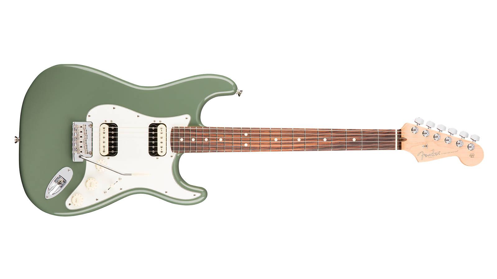 Fender AM Professional Stratocaster HH Shawbucker RW ATO