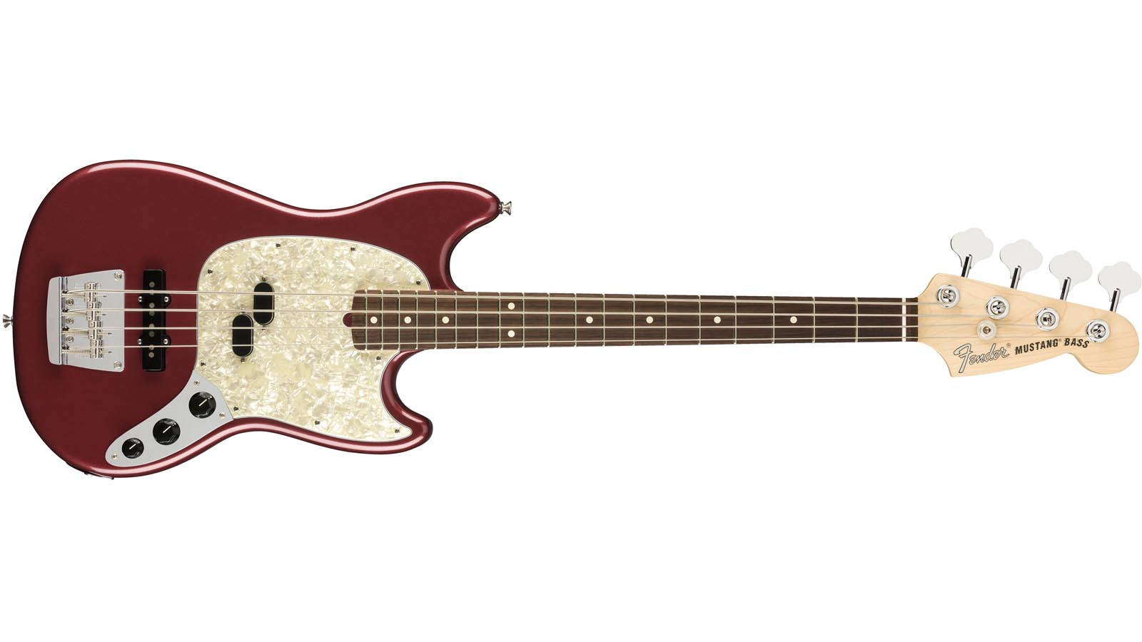 Fender AM Performer Mustang Bass RW AUB