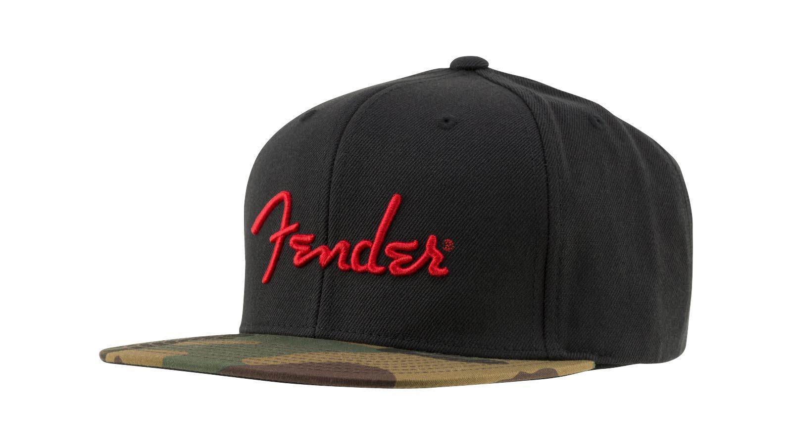 Fender Camo Flat Bill Hat