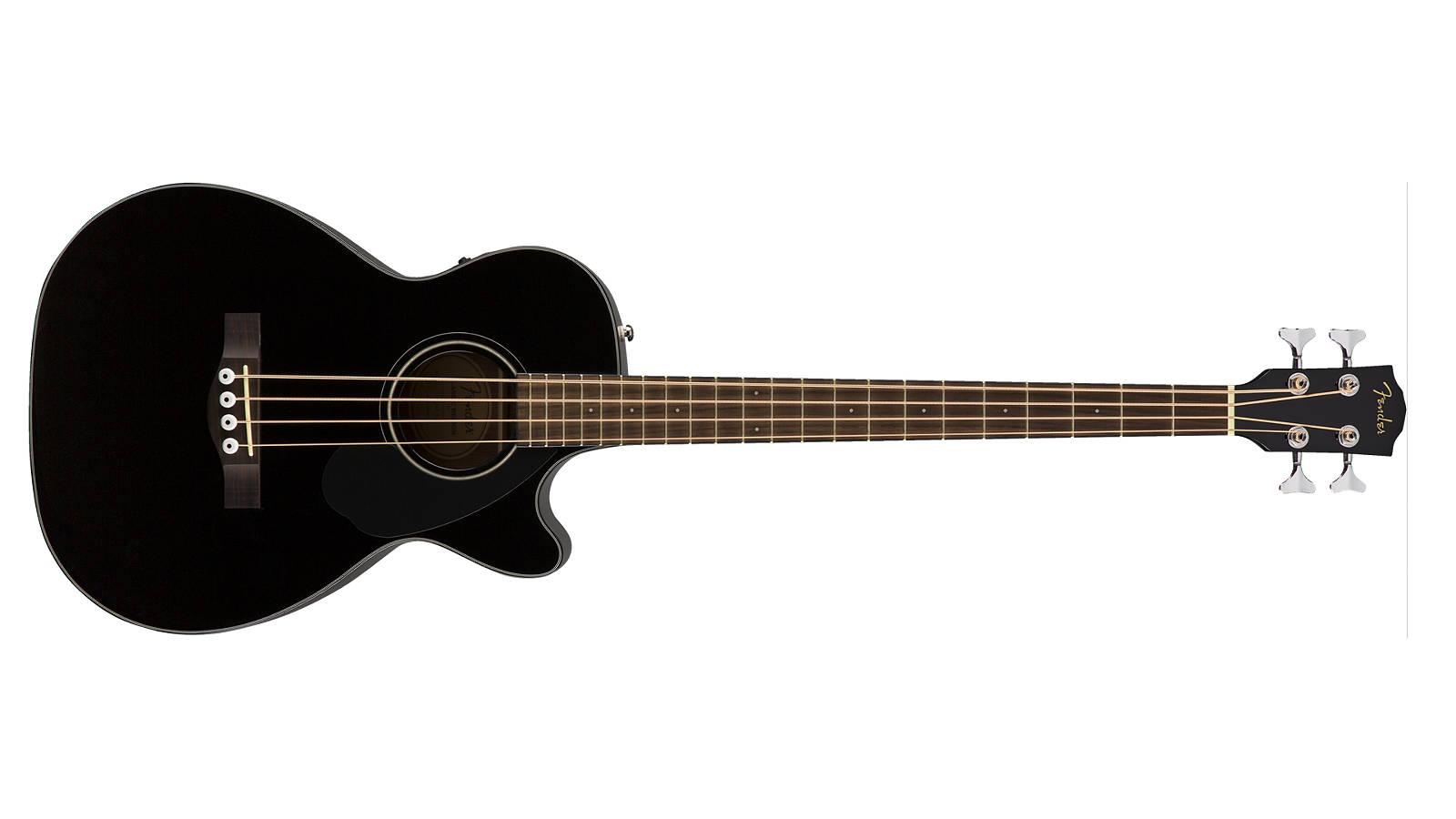 Fender CB-60SCE BLK Akustikbass