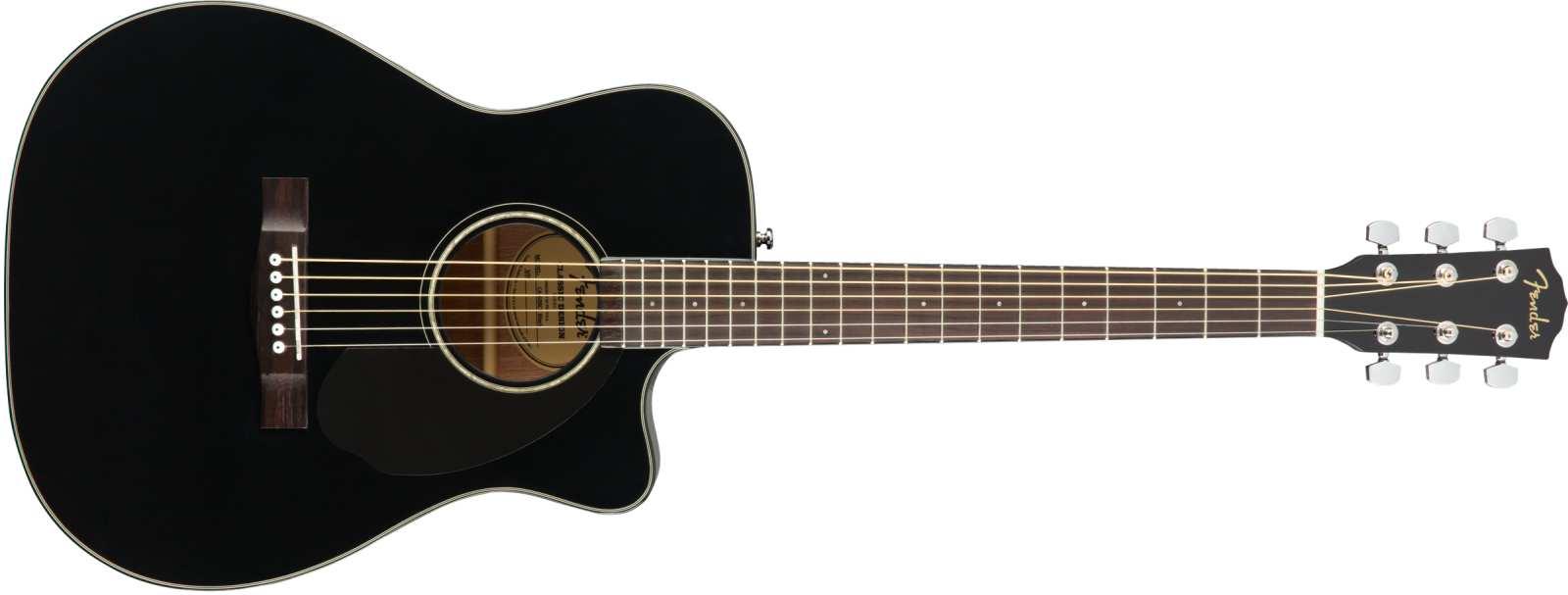 Fender CC-60SCE Concert BLK