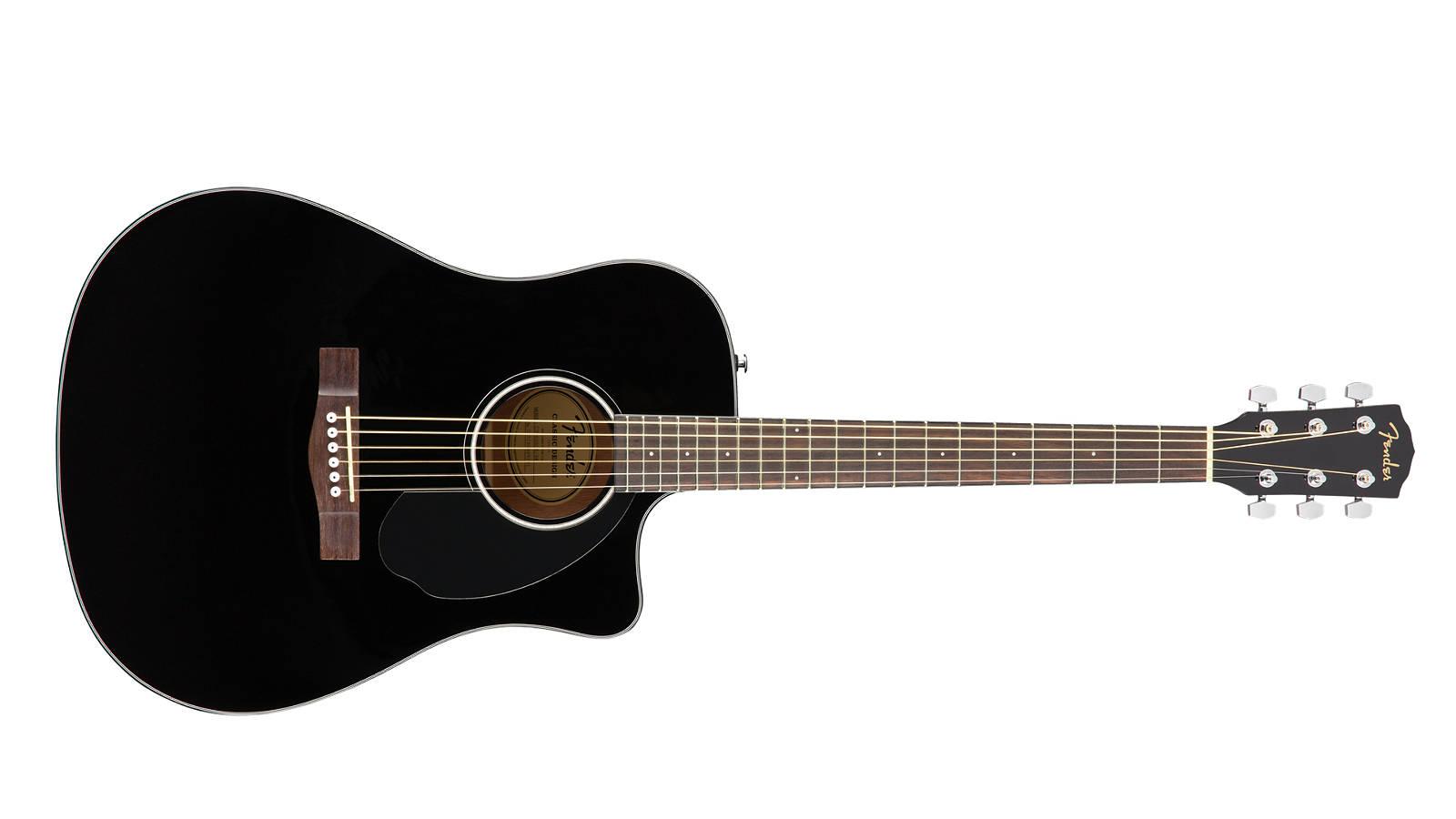 Fender CD-60SCE BLK Westerngitarre