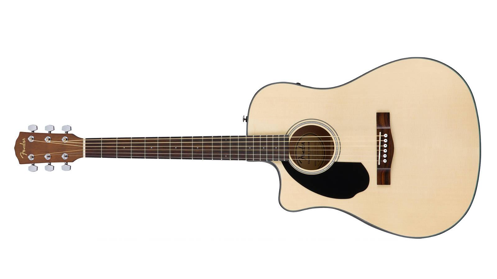 Fender CD-60SCE LH Westerngitarre Natur