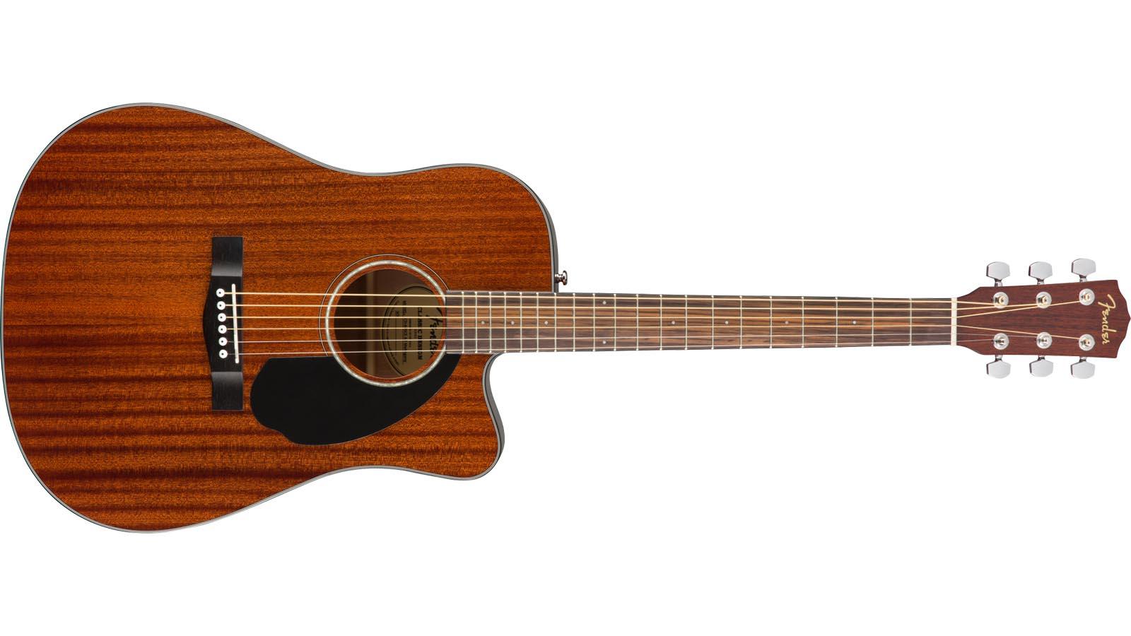 Fender CD-60SCE Maha Dreadnaught incl Tonabnehmer