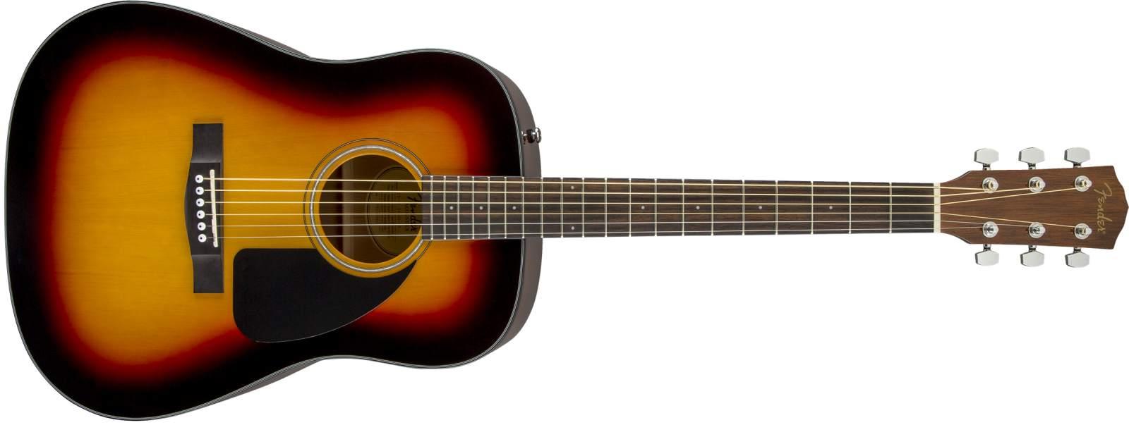 Fender CD-60 V3 DS SB Dreadnought