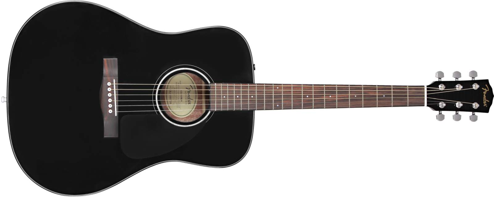 Fender CD-60 V3 DS BLK Dreadnought