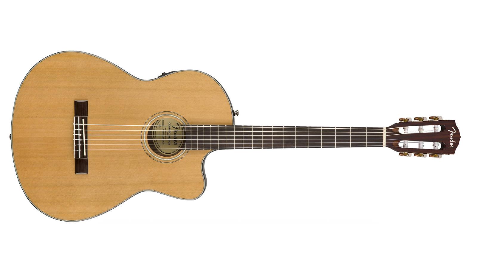 Fender CN-140SCE NAT Konzertgitarre