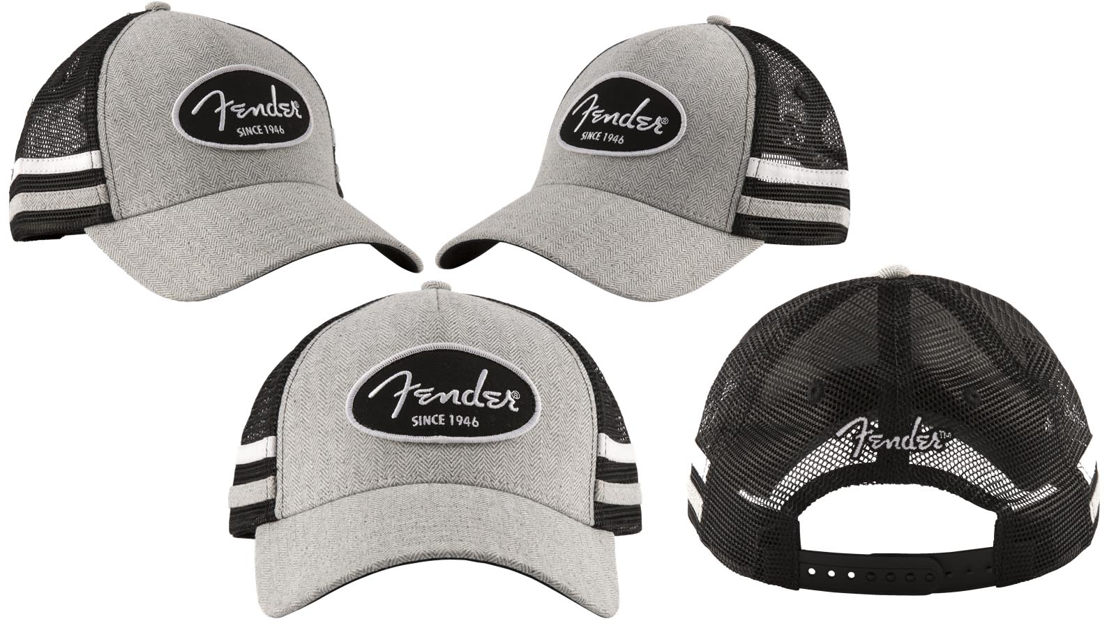 Fender Core Trucker With Side Stripes