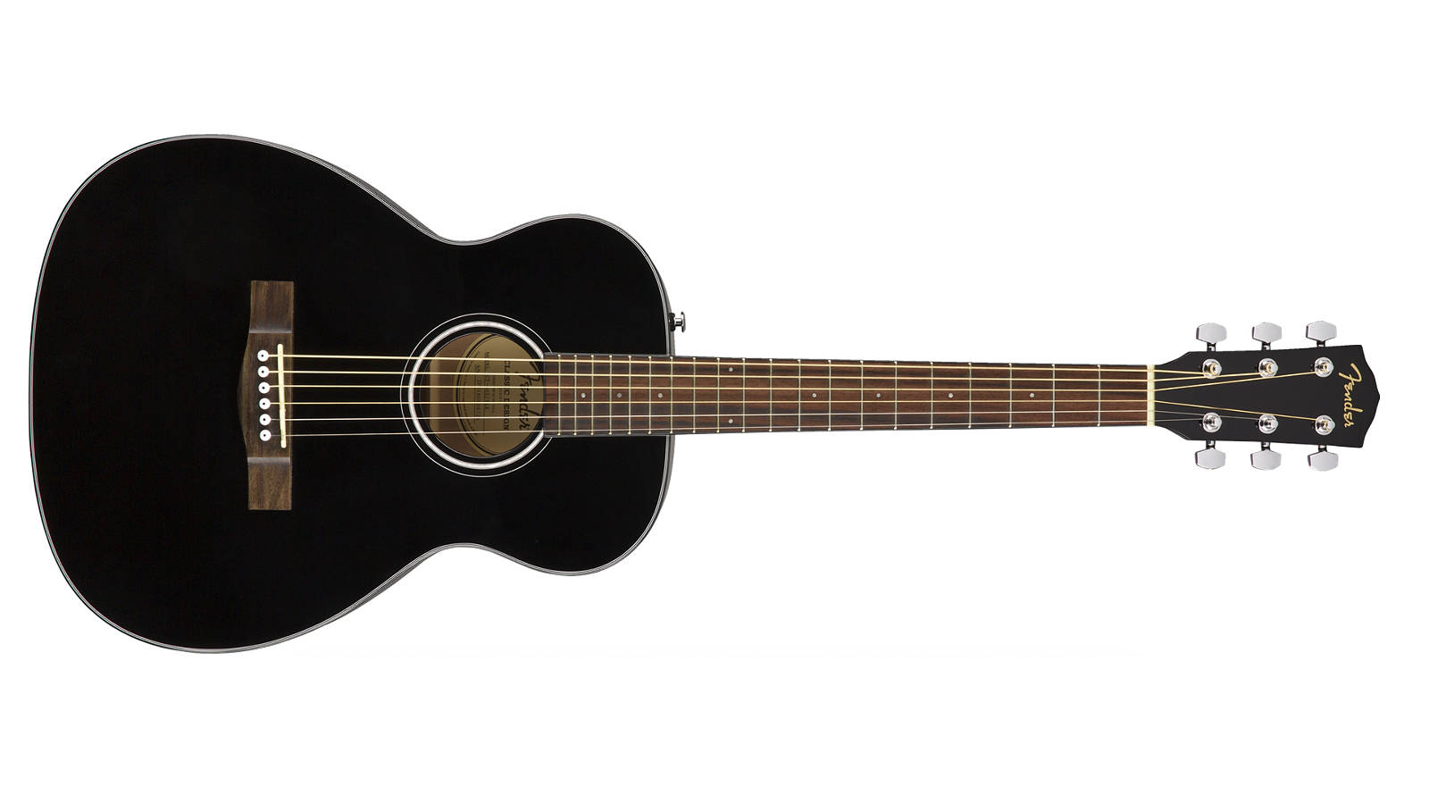 Fender CT-60S BLK Travel Westerngitarre