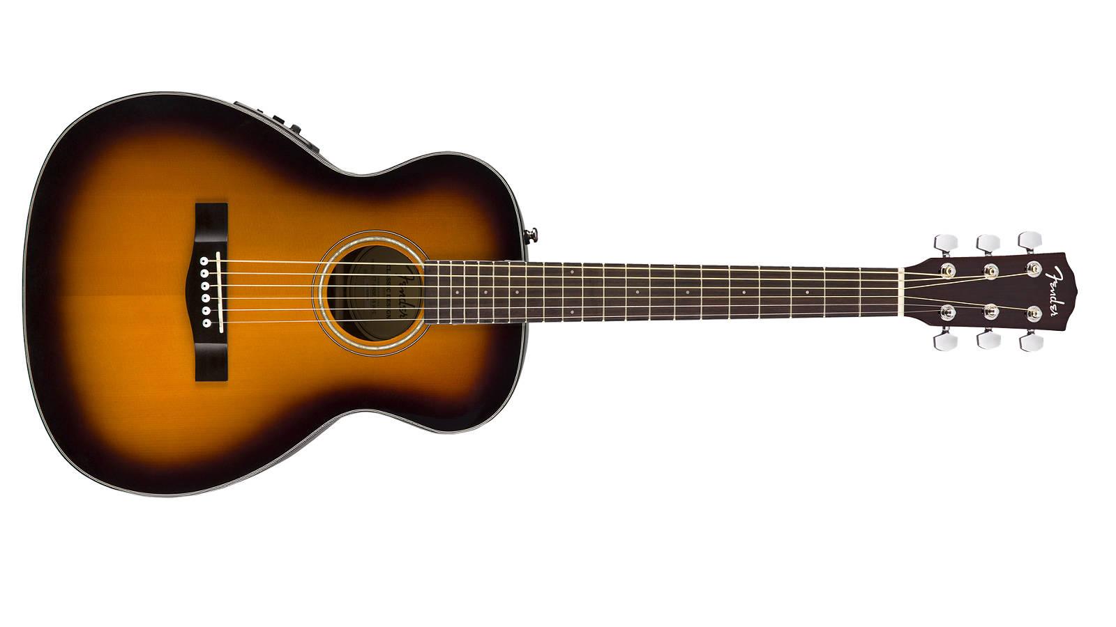 Fender CT-140SE SB Travel Westerngitarre