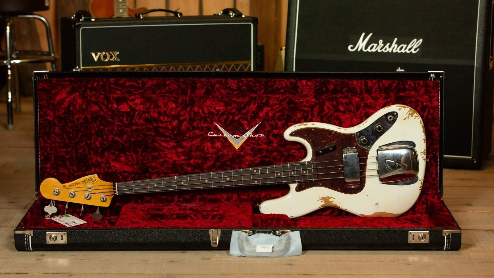 Fender 1961 Custom Jazz Bass OWT Heavy Relic