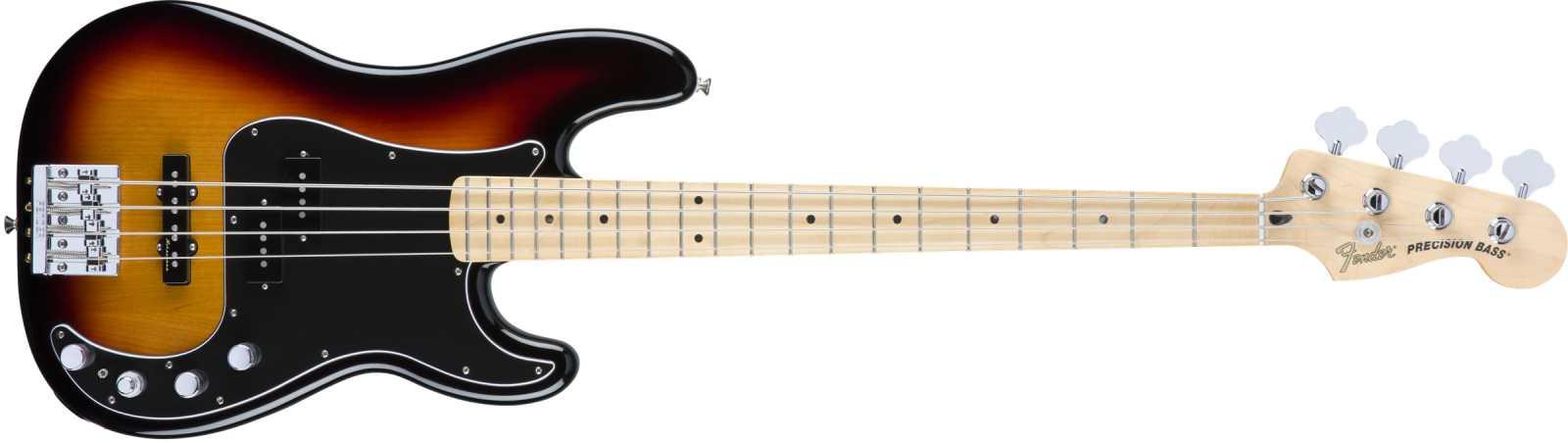 Fender DLX P Bass Special MN 3CS 3 Color Sunburst Aktive