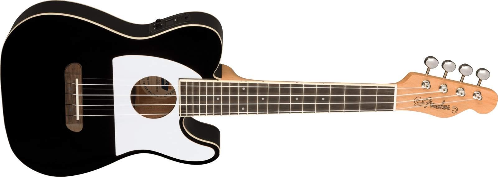 Fender Fullerton Tele Ukulele black