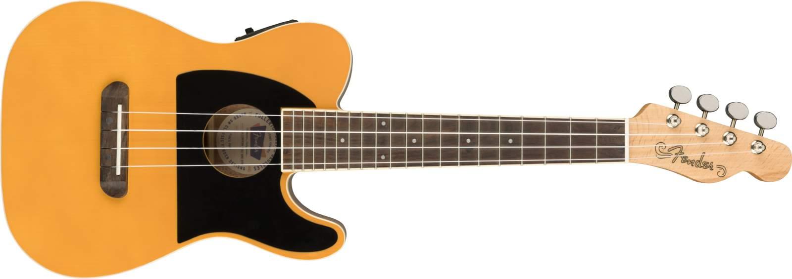 Fender Fullerton Tele Ukulele blond