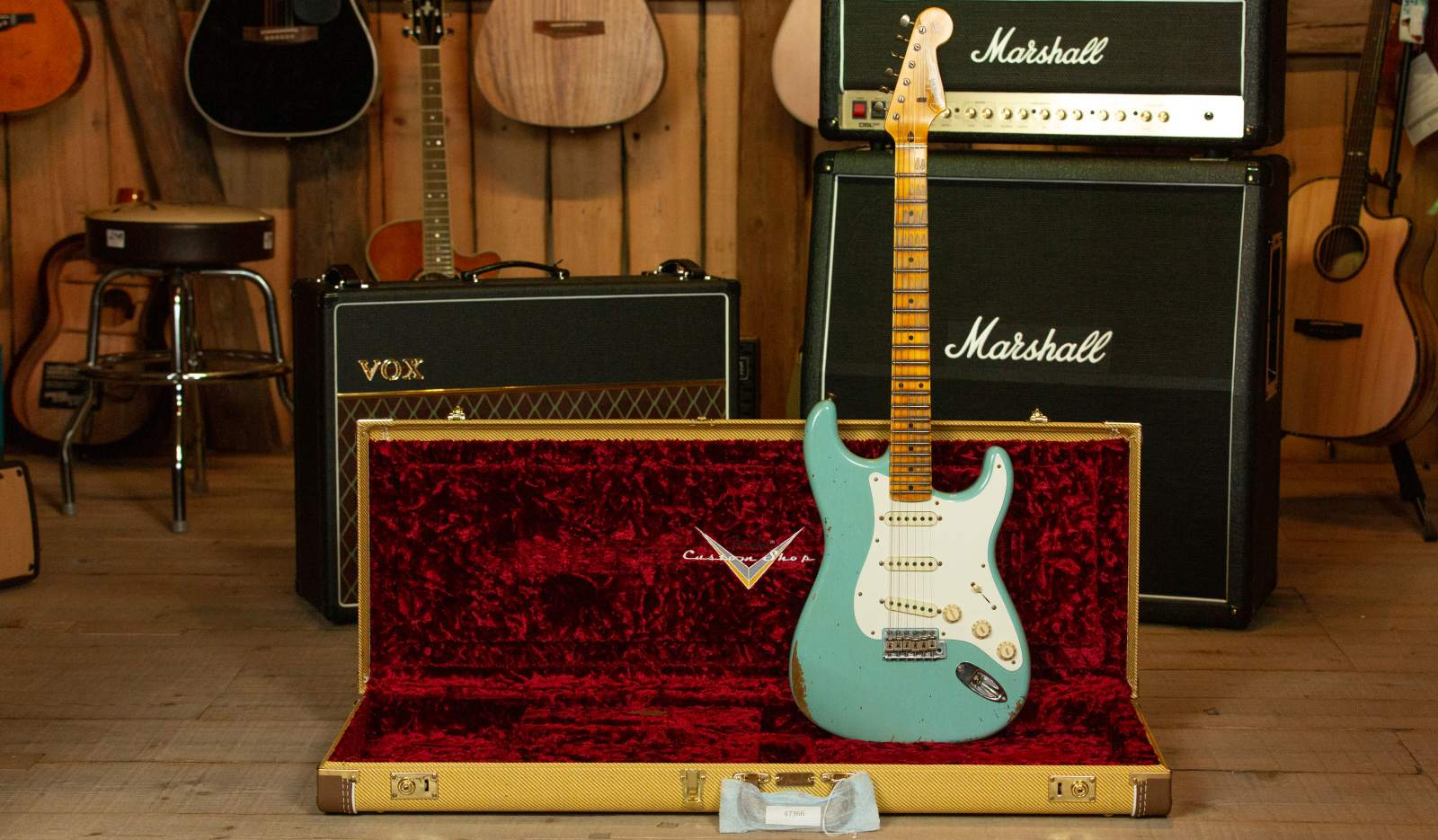 Fender 1959 Heavy Relic Custom Shop Strat MN DPB Aged