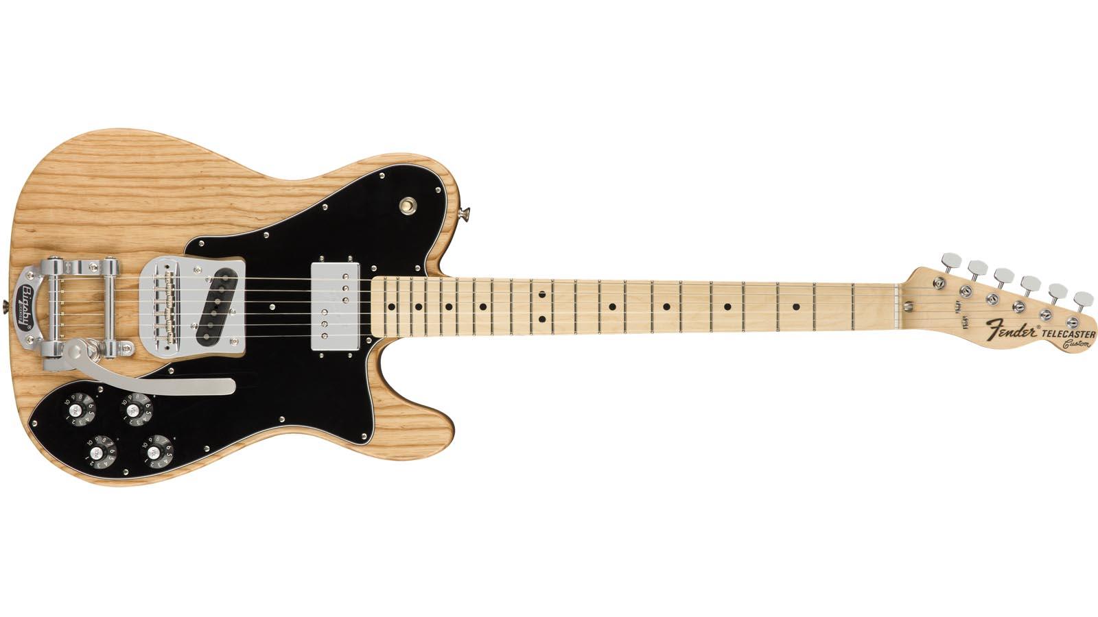 Fender LTD 72 Tele Custom MN Bigsby Natural