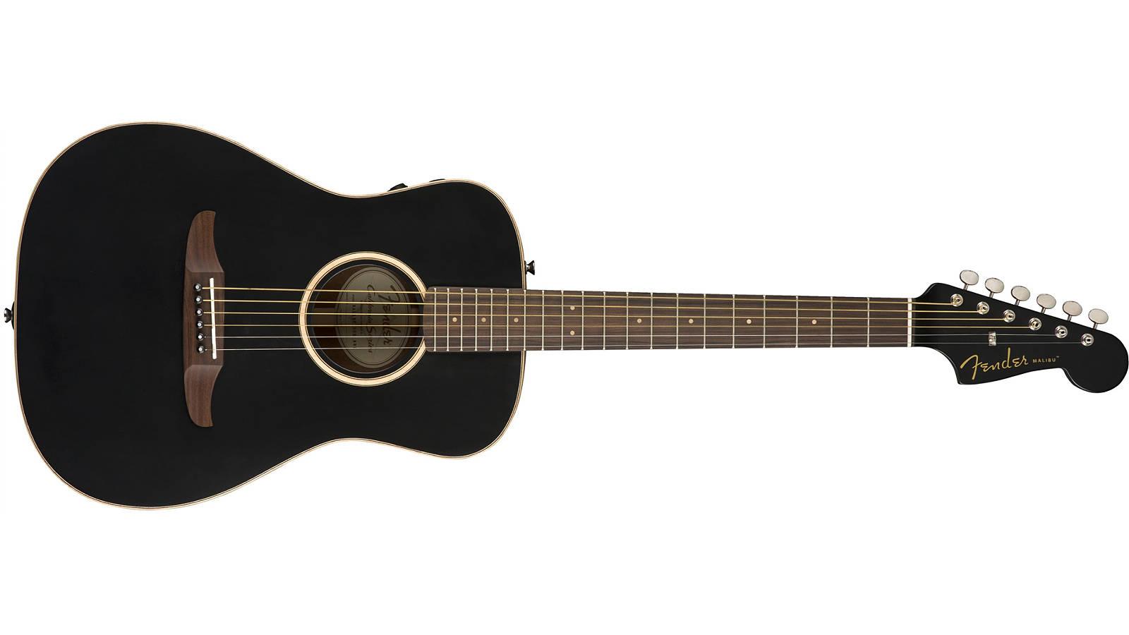 Fender Malibu Special Matte Black