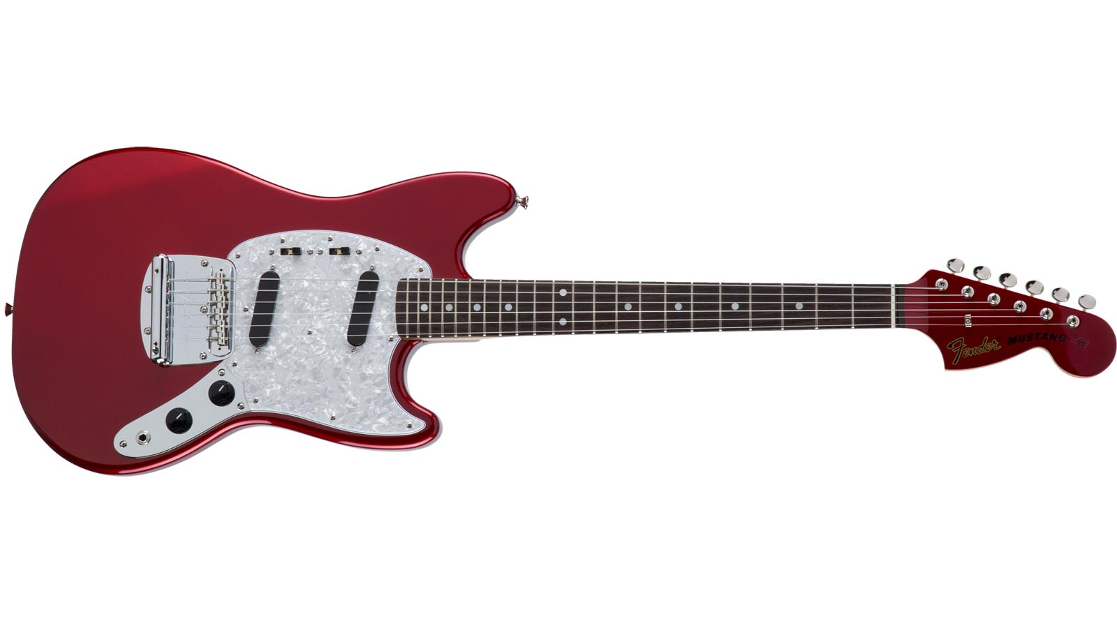 Fender MIJ Traditional 70s Mustang RW CAD