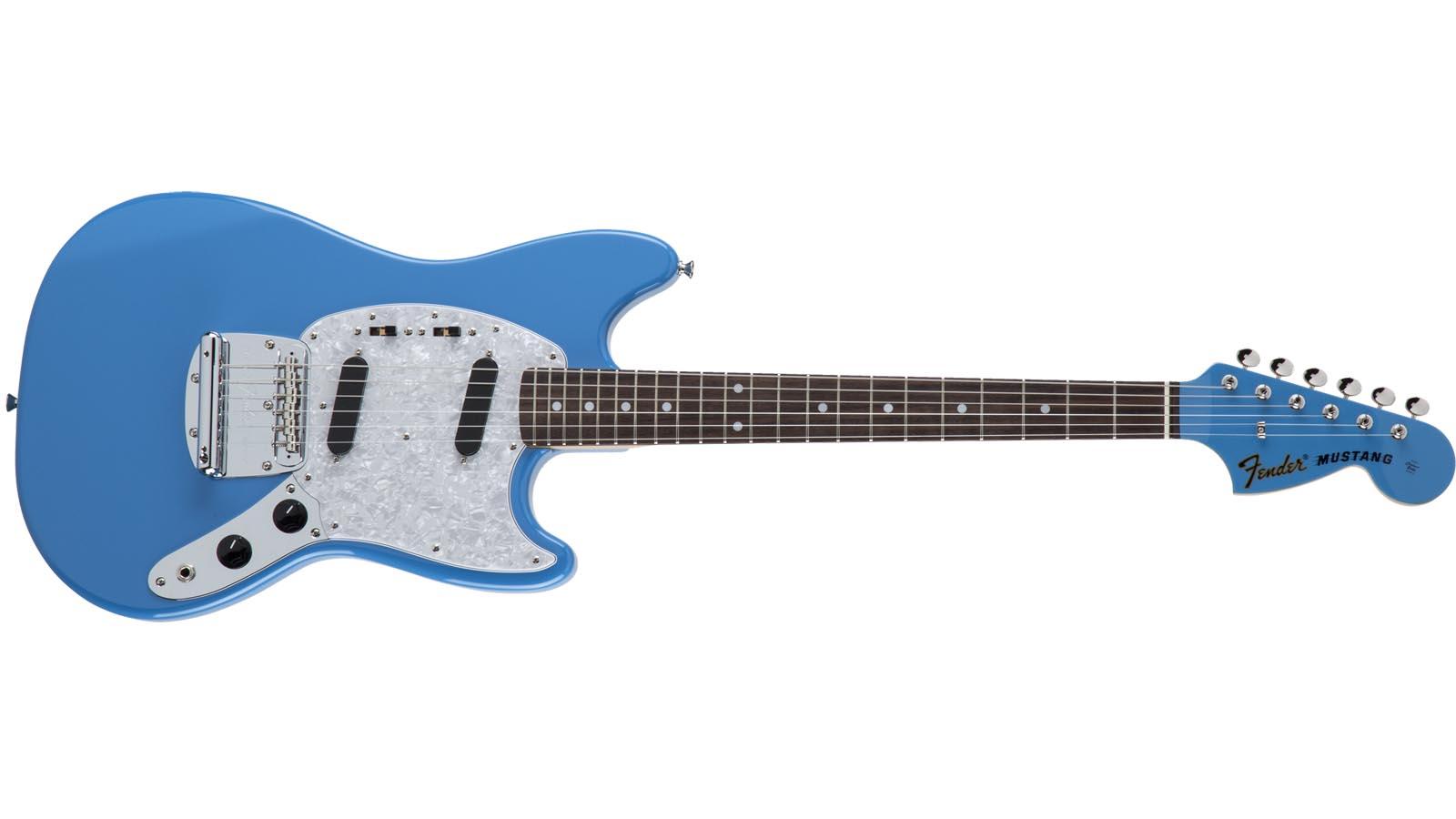 Fender MIJ Traditional 70s Mustang RW CBL